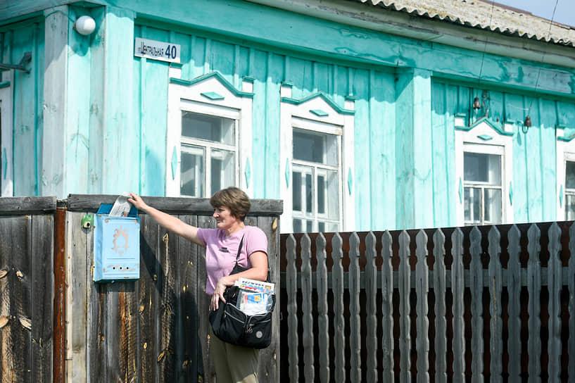 «На селе всегда почтальон был первым человеком после председателя», — улыбается Ирина