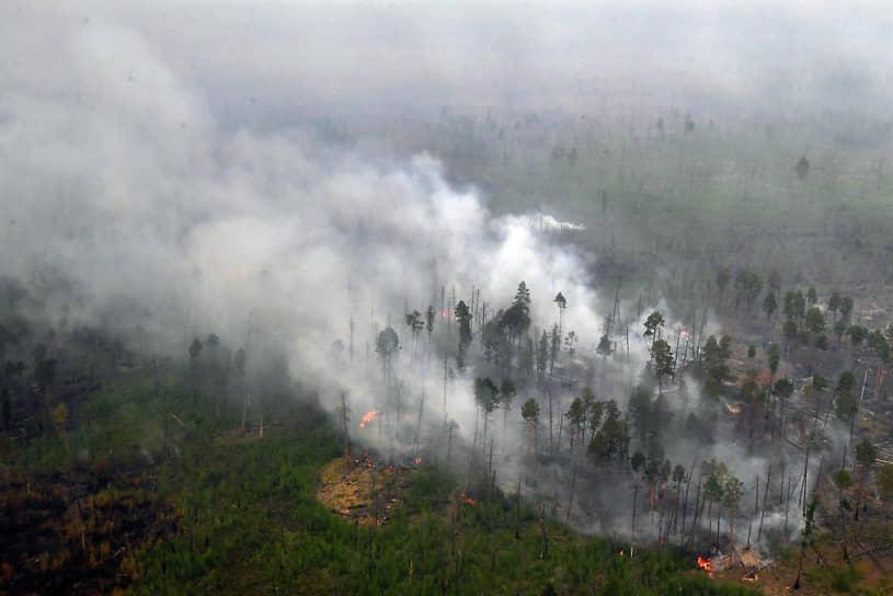 В Якутии с начала года зафиксировано 1227 природных пожаров