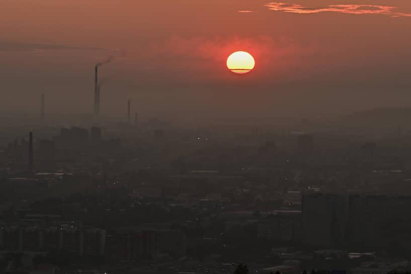 В начале августа в Красноярском крае задымление от лесных пожаров в Якутии было зафиксировано в 954 населенных пунктах 41 муниципального образования