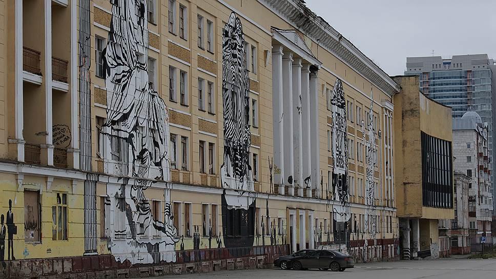 Апарт-галерея / Власти могут выкупить бывший корпус ВКИКУ для размещения художественной галереи