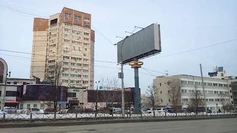 Нещитово  / Мэрия Перми оспорила в суде право собственности на 15 рекламных щитов