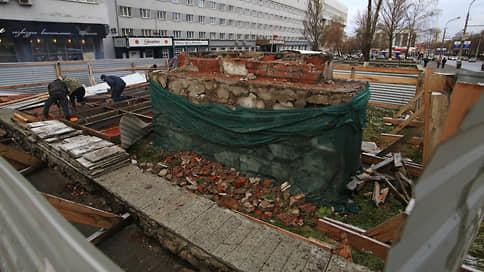 Иск солены уши  / Власти изымают участок под бывшим «Орденом Ленина»