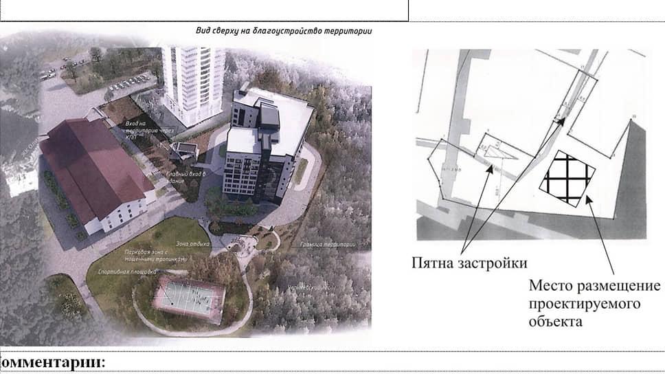 """Изначально гостницу предлагалось строить на участке за ЖК """"Олимп"""""""