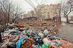 ул.Екатерининская до уборки мусора