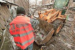 Уборка на ул. Екатерининская финансовой группой «Ермак»