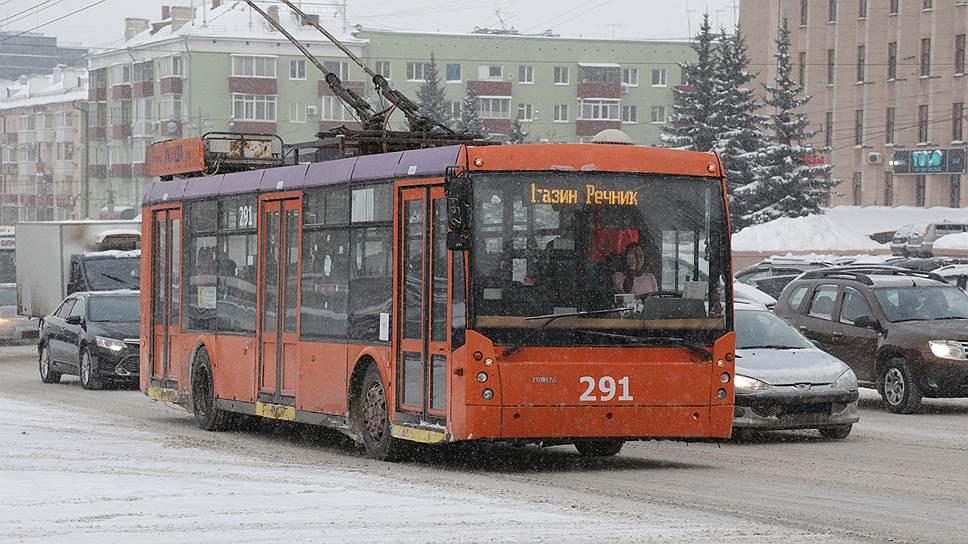 Пермские троллейбусы перестанут работать 1 мая
