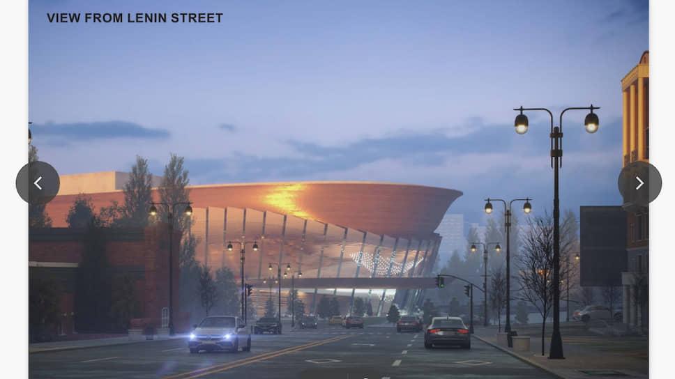 По словам представителя международного архитектурного бюро wHY Андрея Стожича, архитекторы постарались создать здание театра, «вдохновленное музыкой и танцем».