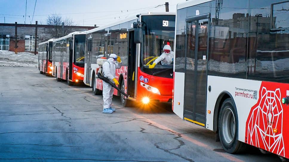 Свои автобусы обрабатывают и частные перевозчики.