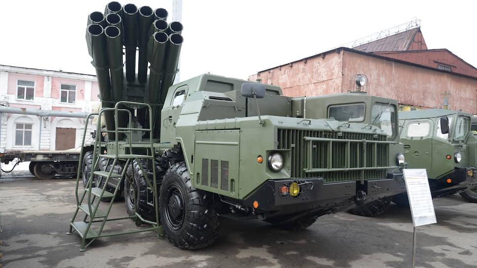 После войны «Мотовилихинские заводы» стали крупнейшим производителей артиллерии и реактивных систем залпового огня. На фото РСЗО «Торнадо-С».