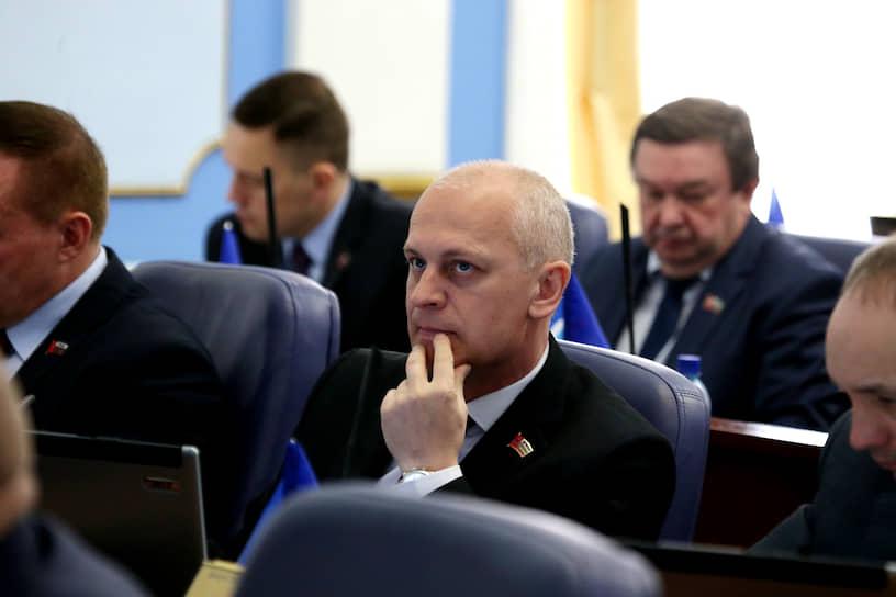 COVID-19 обнаружен у депутата гордумы Сергея Захарова.