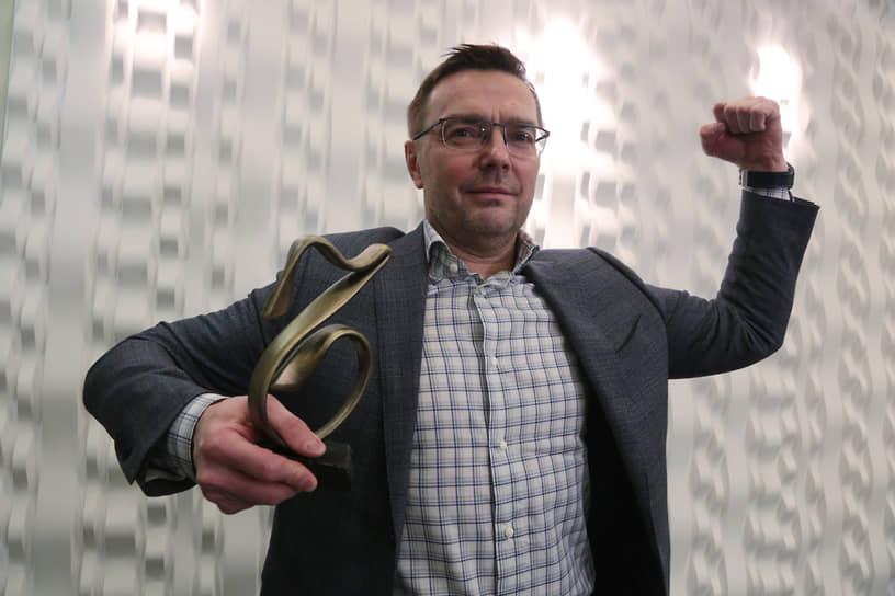 Олег Стародубцев, руководитель ГК «ПМД», победитель в номинации «Rе:новация. Завклад впреобразование городских пространств».