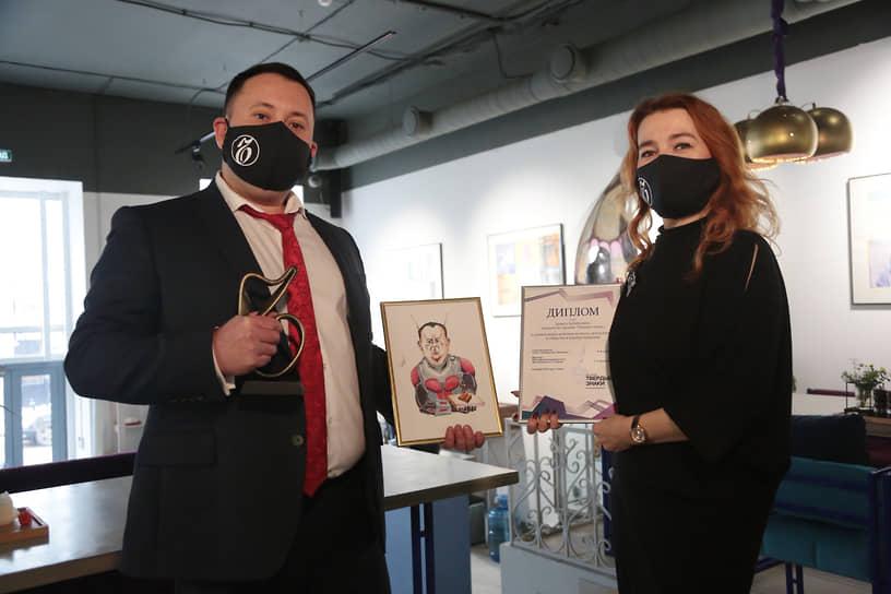 Денис Хабибулин награжден за решительные действия во благо своего бизнеса и общества в период пандемии.