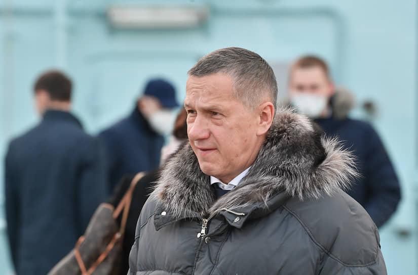 С 2018 года Юрий Трутнев является также председателем Государственной комиссии по вопросам развития Арктики. Рабочая поездка в Мурманск, перед началом церемонии поднятия флага России и принятия в эксплуатацию головного универсального атомного ледокола «Арктика», 2020 год.