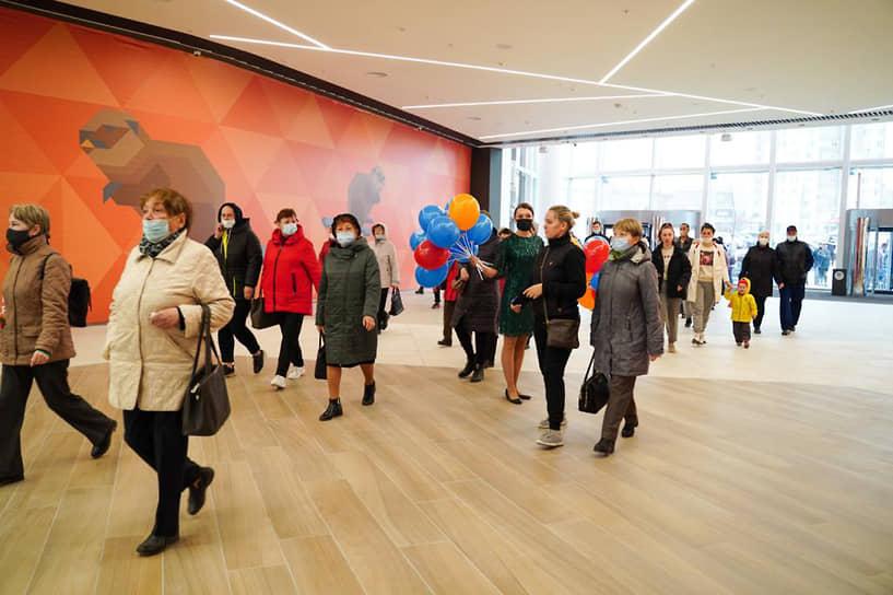 Официальное открытие ТРЦ «Планета» состоялось 22 апреля.