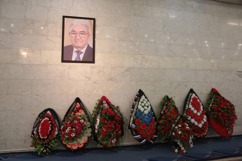 Церемония прощания проходила в Культурно-деловом центре наул.Куйбышева,14.