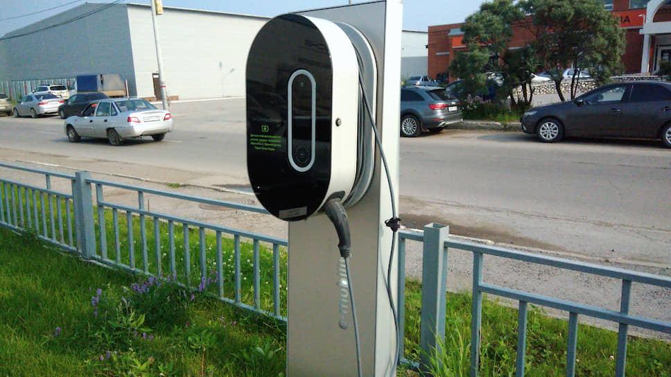 В Перми насчитывается более десяти доступных общественных мест, где можно подзарядить электрокар