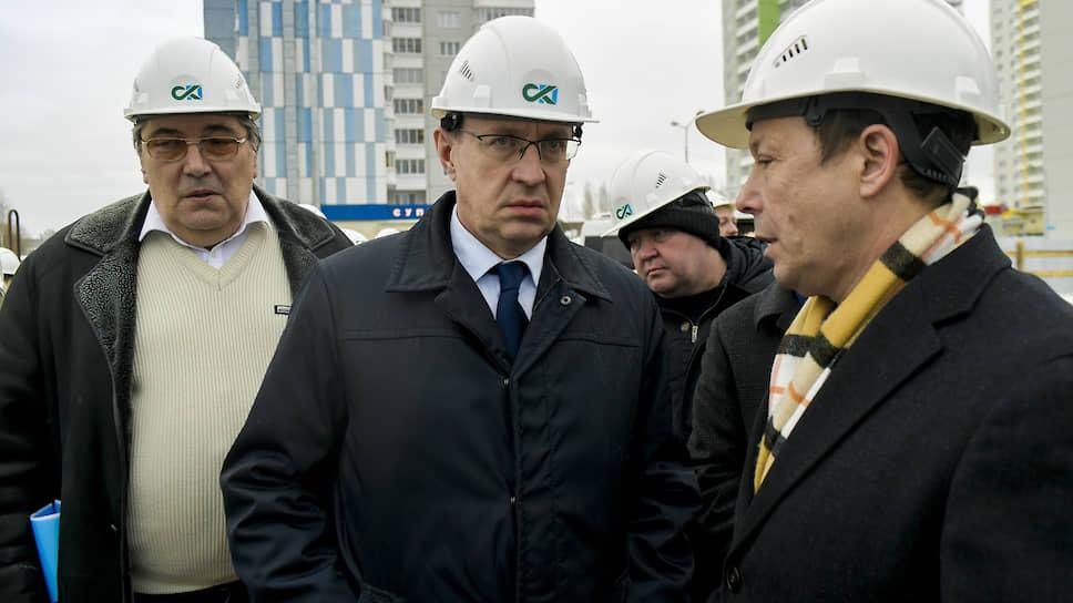 Глава Перми Дмитрий Самойлов совместно с депутатами гордумы и Законодательного собрания края проинспектировал строительные площадки