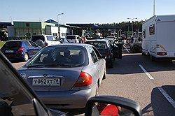 На российско-финляндской границе хотят ввести электронную очередь