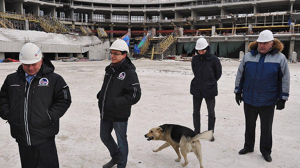 """Петербург оставили один на один со стадионом / Белый дом отказался финансировать строительство """"Зенит-Арены"""""""