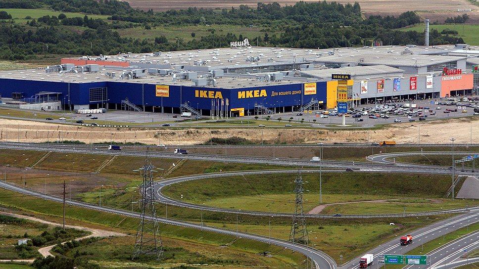 """IKEA выбрала уплотнительный вариант развития / """"Медиа Маркт"""" припаркуется к """"Мега Парнасу"""""""