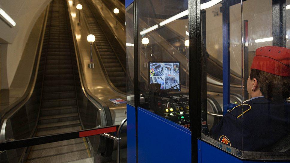 В подземке будут вглядываться в лица / Система интеллектуального видеонаблюдения  появится в метро