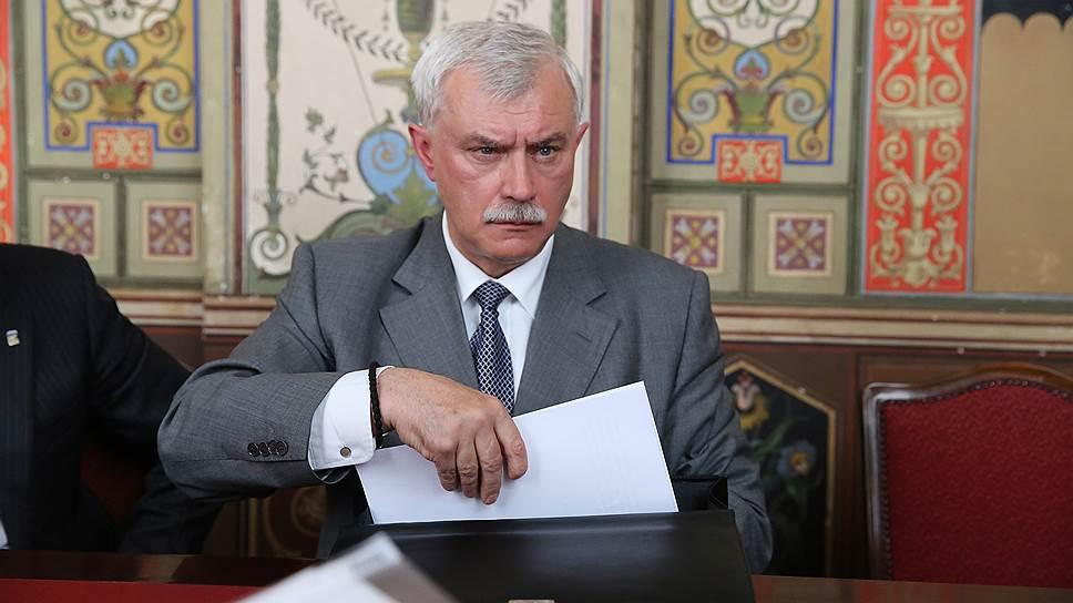 Ко второму чтению проекта закона о городском бюджете губернатор Петербурга Георгий Полтавченко подготовил значительные изменения
