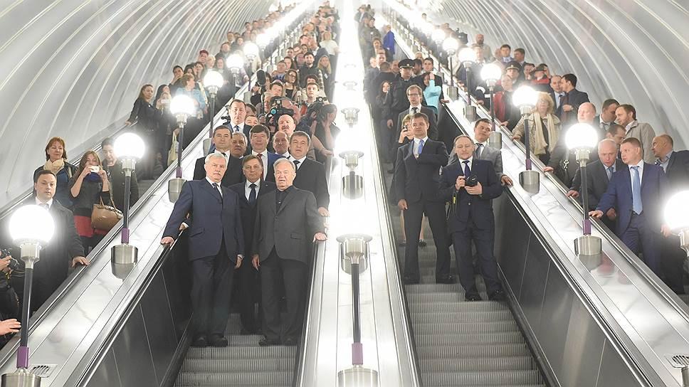 Тариф для сетей аукнется в метро / Расходы городской подземки вырастут примерно на 136миллионов рублей