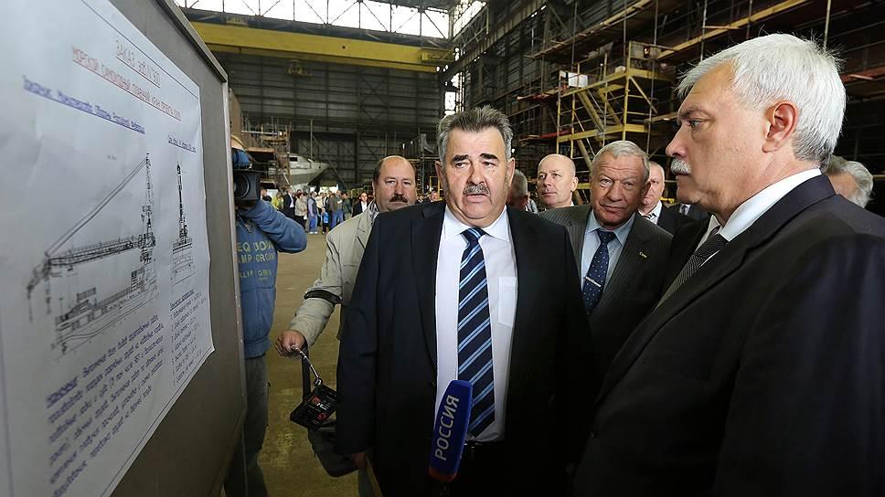 Генеральный директор судостроительной фирмы «Алмаз» Леонид Грабовец переключил внимание с Запада на Восток