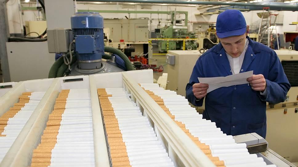 Производство сигарет санкт петербург купить табачные изделия самара