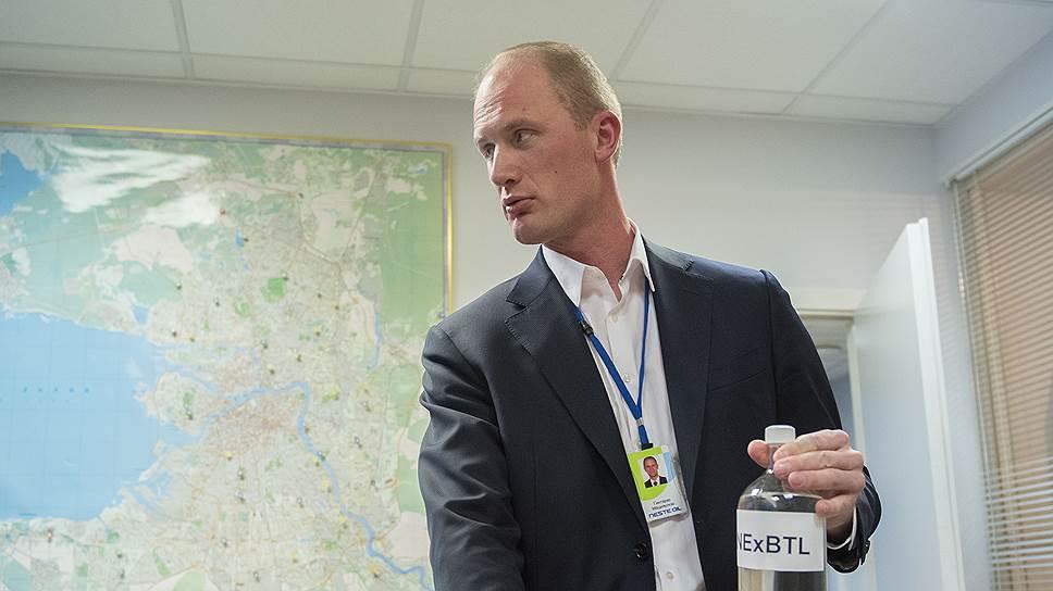 Генеральный директор «Несте Санкт-Петербург» Гинтарас Мацияускас меняет место приложения своих профессиональных сил