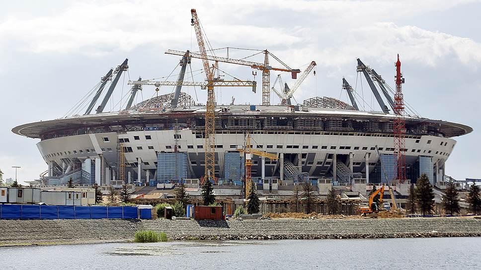 Как увеличивалась стоимость строительства «Зенит-арены»