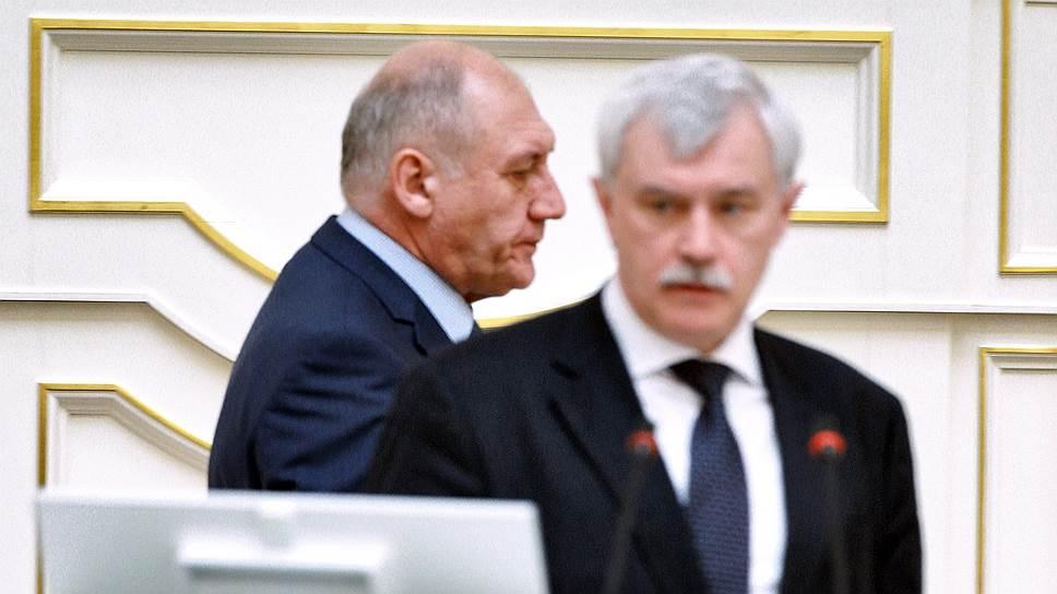 Как попытка санкт-петербургской администрации подчинить себе муниципалитеты вызвала отпор в ЗакСе