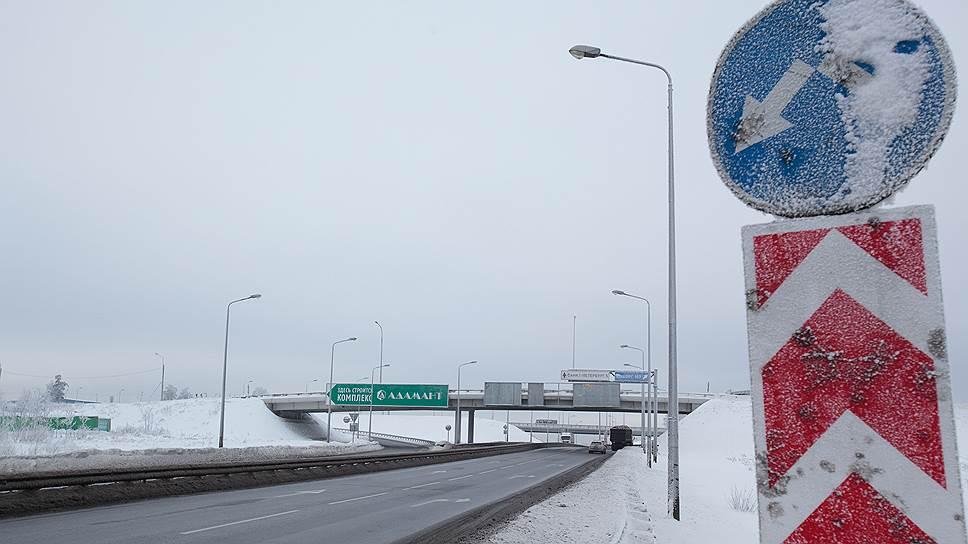 Подготовительные работы по расширению КАД, стоимостью 265 млн рублей, уже начались