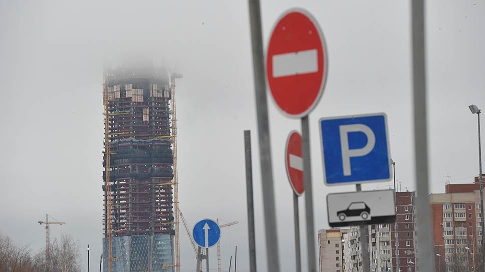 Развитие транспортной инфраструктуры рядом с «Лахта-центром» столкнулось с новой проблемой