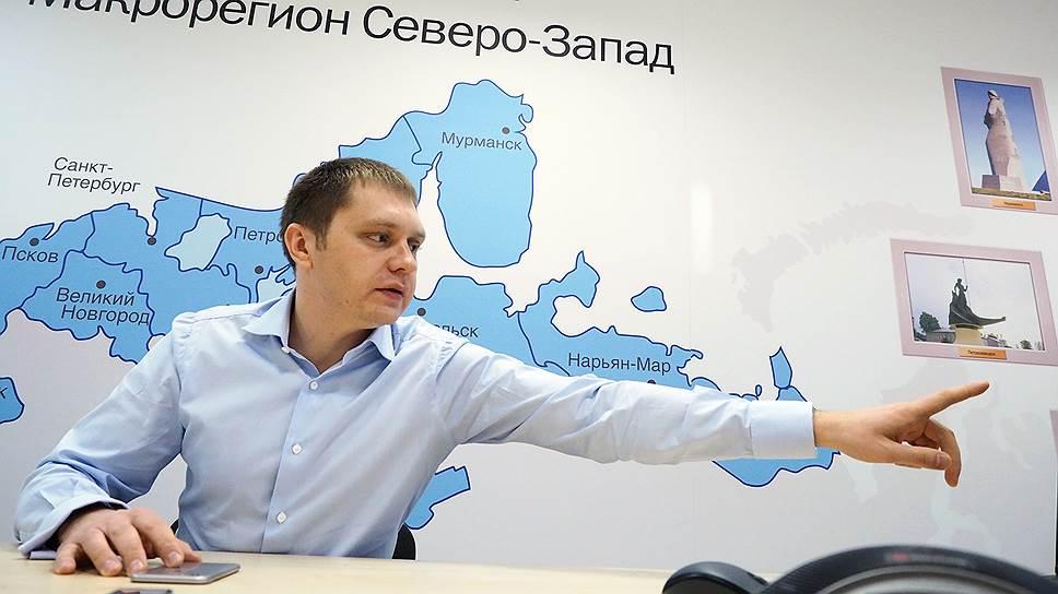 """Генеральный директор макрорегиона """"Северо-Запад"""" Tele2 Олег Телюков"""