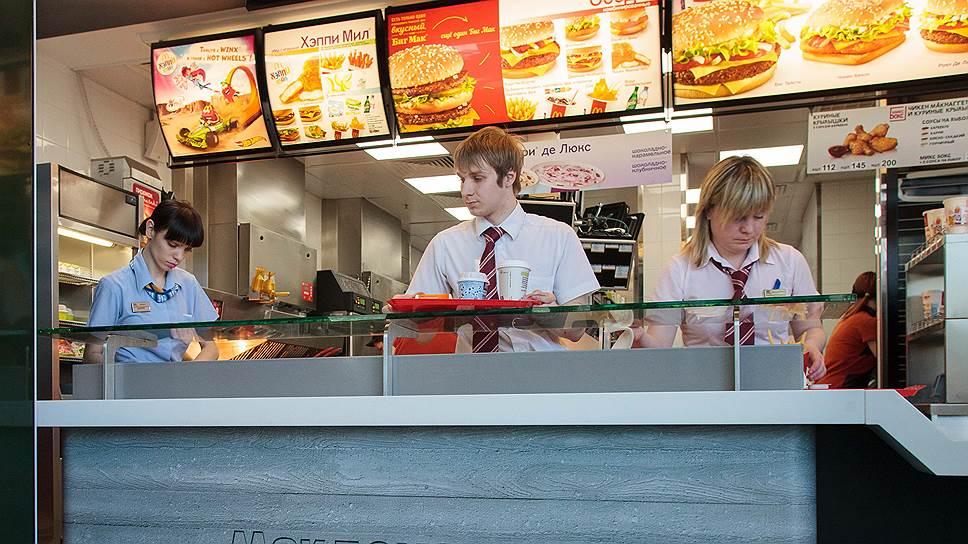 McDonald's задумался о доставке / Сеть наращивает присутствие в Петербурге