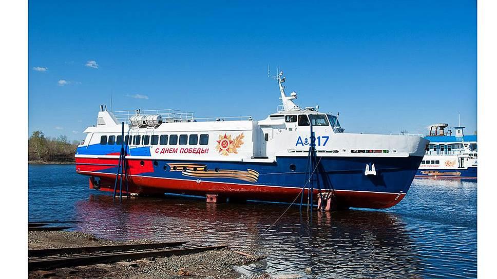 Пассажирское судно проекта А-217