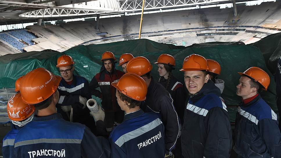 О том, как экс-подрядчик «Газпром Арены» пытается взыскать с города 4,8 млрд рублей