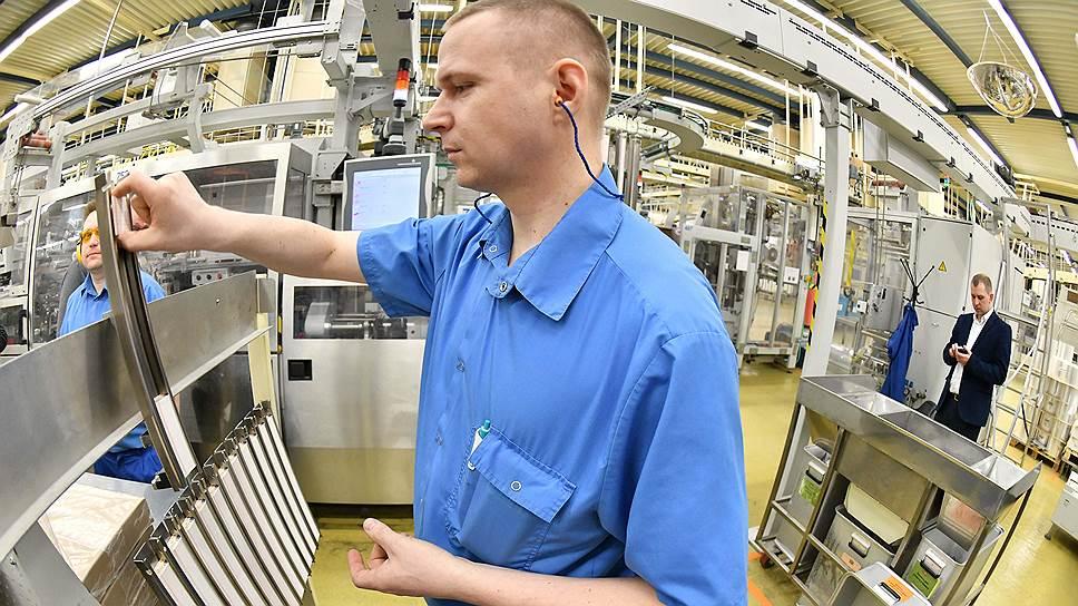 Производственный цеха компании «Филип Моррис Интернэшнл»