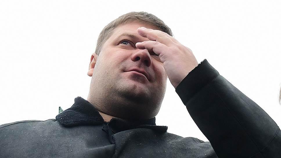 """Генеральный директор ОАО """"Метрострой"""" Николай Александров"""