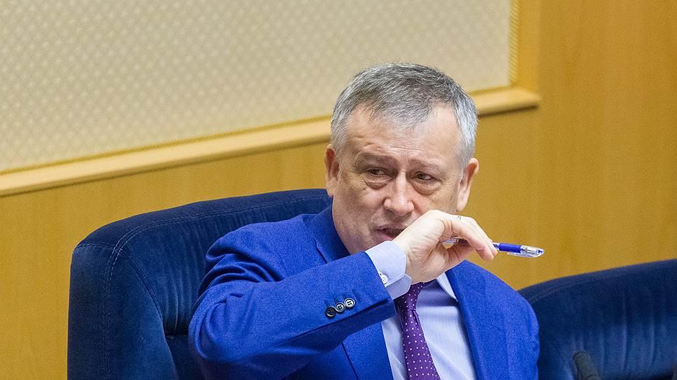 Почему губернатор Ленинградской области перешел на феню в общении с девелоперами