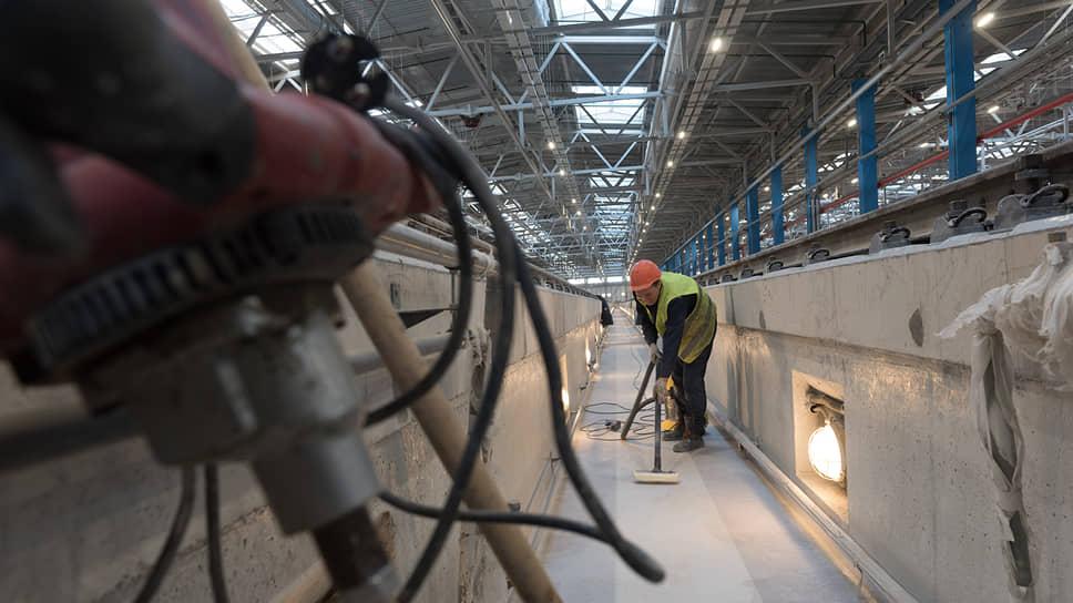 «Метрострой» поборется за «Дачное» / Компания стала участником конкурса ГУП «Петербургский метрополитен» на реконструкцию депо