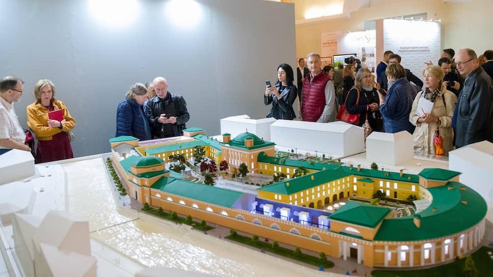 Инвесторы впрягутся в Конюшенное ведомство / Историческому зданию нарисовали пять сценариев развития
