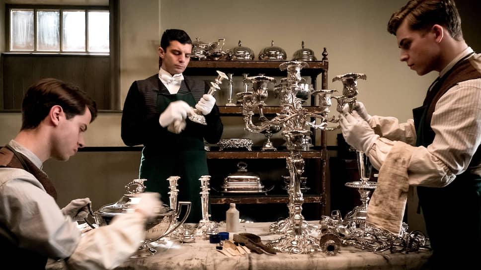 Полировка столового серебра становится в «Аббатстве Даунтон» событием государственной важности