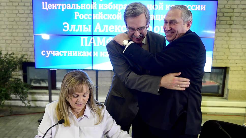 Карающий меч Центризбиркома / Элла Памфилова заявила, что рассматривает возможность расформирования СПбИК через суд
