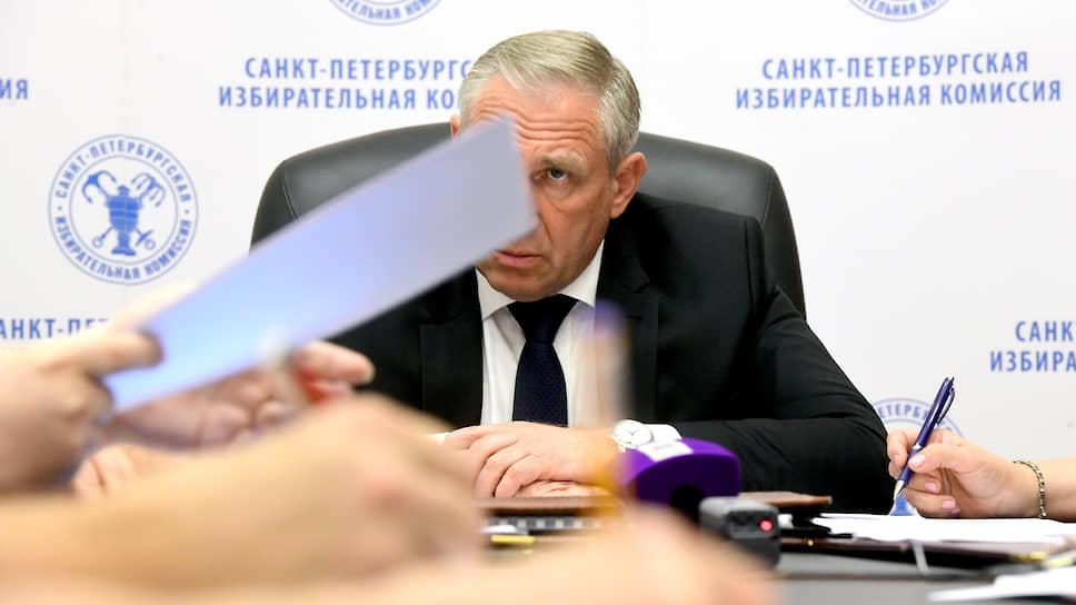 Председатель Санкт-Петербургской избирательной комиссии Виктор Миненко