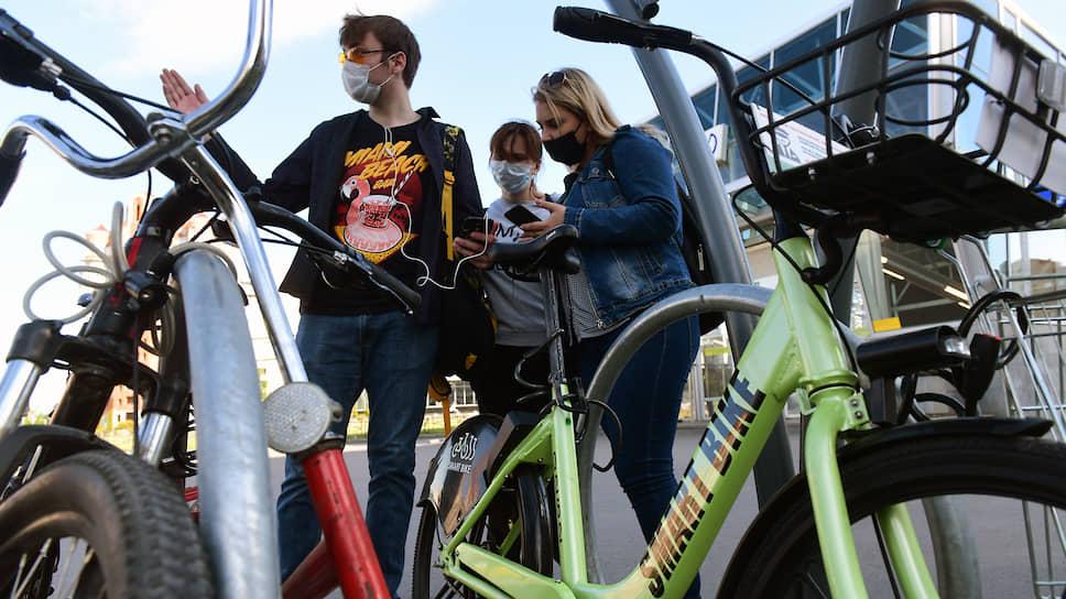 Велошеринг ищет место для стыковки / Прокату необходима инфраструктура парковок для развития сервиса