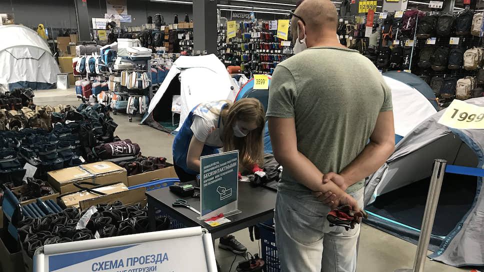 Губернатор нашел крайнего / Решение по открытию торговых центров в Санкт-Петербурге объявлено, но не принято