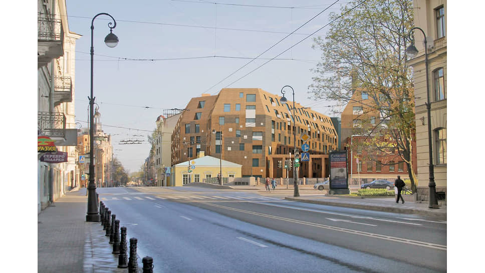 Проект ЖК «Meltzer Hall» на пересечении Каменноостровского проспекта и набережной реки Карповки
