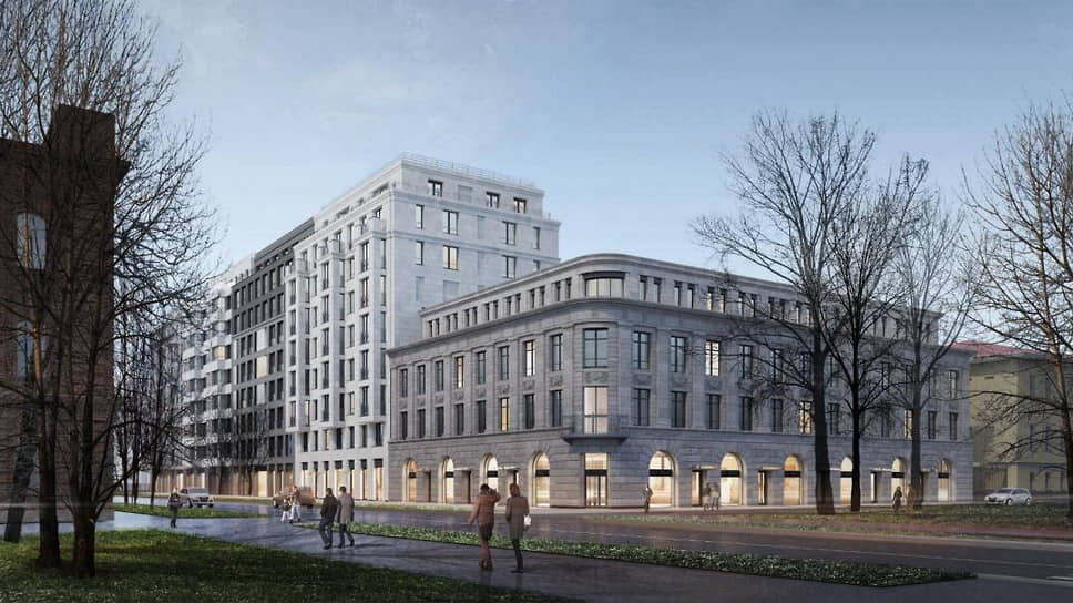 Проект жилого комплекса на 20 линии Васильевского острова, дом 19